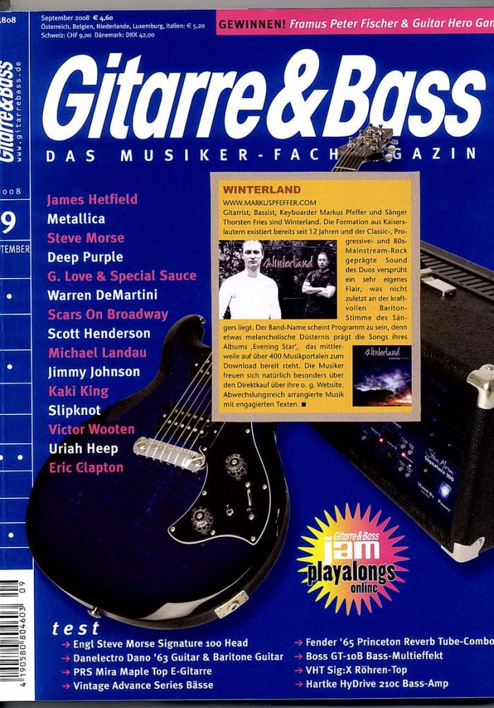 2008.09.01 Gitarre und Bass