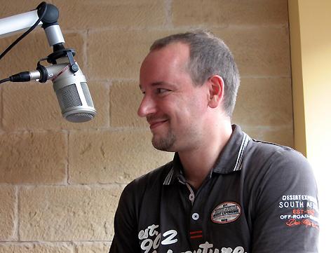 Markus Pfeffer bei Radio SB - 27.08.2010