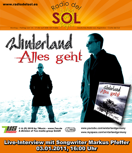 Radio Del Sol - Ankündigung Winterland-Interview