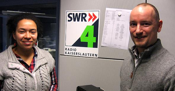 Markus Pfeffer zum Interview bei SWR1