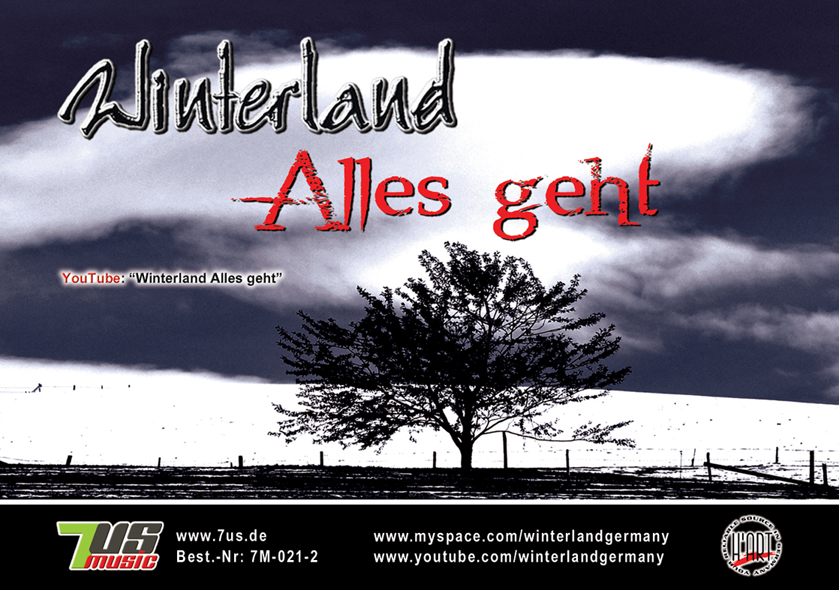 Winterland - Alles geht - Flyer Front