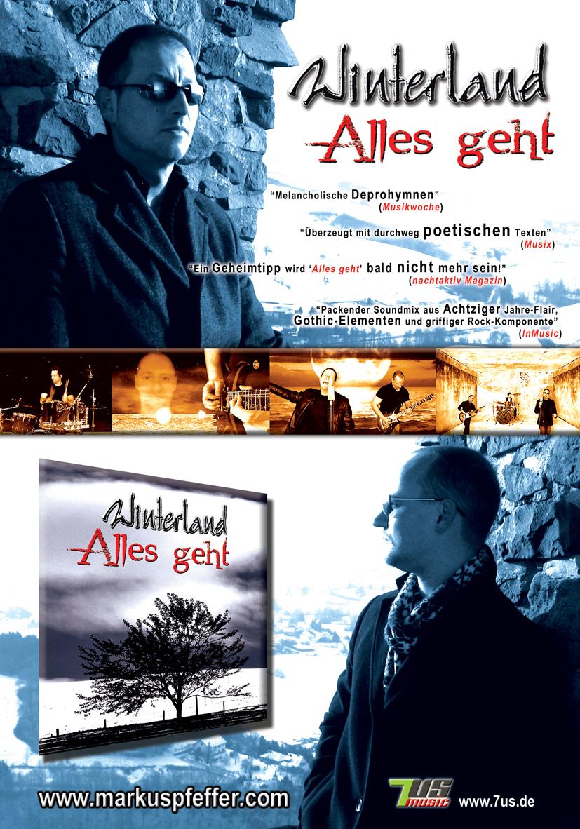 Winterland - Anzeige Nachtaktiv 01/2011