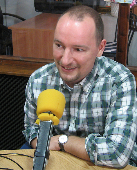 Interview bei Radio Del Sol /Radio Algarrobo, Andalusien