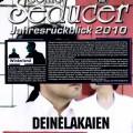 Artikel in Sonic Seducer Jahresrückblick 2010