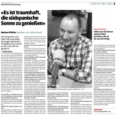"""Artikel von Peter Mojen in """"Surdeutsche"""", 13.01.2011"""
