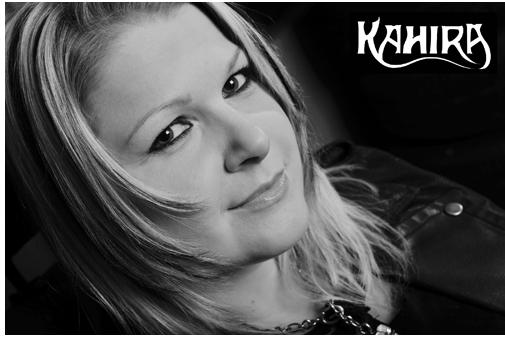 KAHIRA-Frontfrau Katie Juraschka