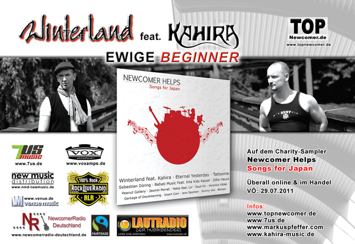 "Flyer ""Ewige Beginner"" - Winterland feat. Kahira"