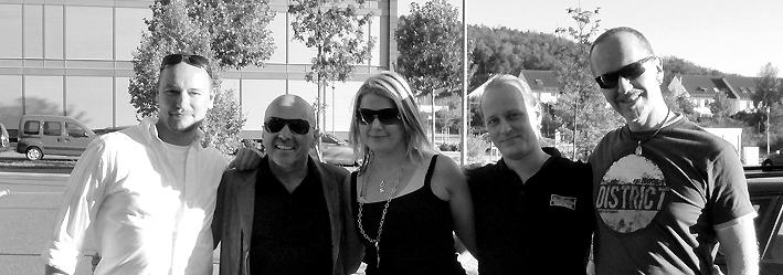 Markus Pfeffer, Hans Derer (7us), Katie & Volker (KAHIRA), Stephan Hugo