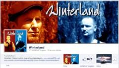 Winterland Facebook-Seite