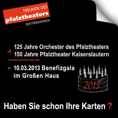 Pfalztheater Benefizgala 2013