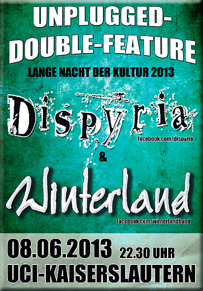 Unplugged Double-Feature: DISPYRIA + WINTERLAND